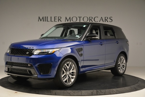 Used 2015 Land Rover Range Rover Sport SVR for sale Sold at Bentley Greenwich in Greenwich CT 06830 2