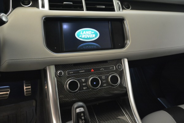 Used 2015 Land Rover Range Rover Sport SVR for sale Sold at Bentley Greenwich in Greenwich CT 06830 20