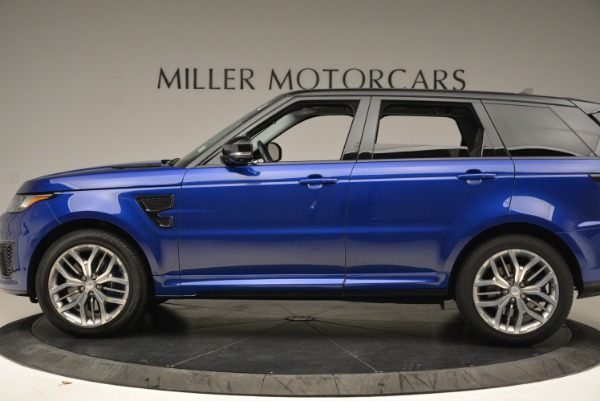 Used 2015 Land Rover Range Rover Sport SVR for sale Sold at Bentley Greenwich in Greenwich CT 06830 3