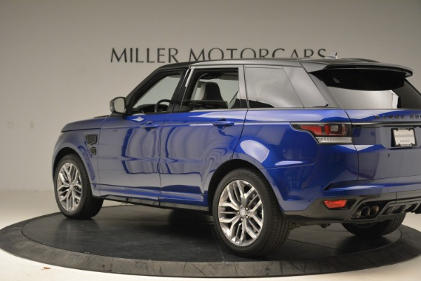 Used 2015 Land Rover Range Rover Sport SVR for sale Sold at Bentley Greenwich in Greenwich CT 06830 4