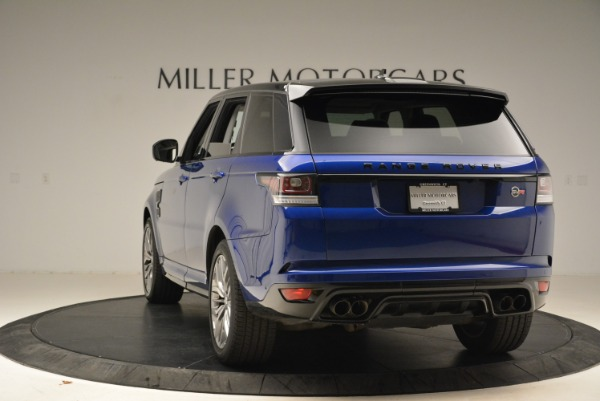 Used 2015 Land Rover Range Rover Sport SVR for sale Sold at Bentley Greenwich in Greenwich CT 06830 5