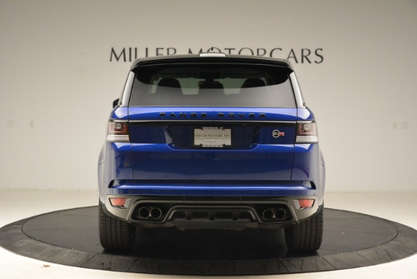 Used 2015 Land Rover Range Rover Sport SVR for sale Sold at Bentley Greenwich in Greenwich CT 06830 6