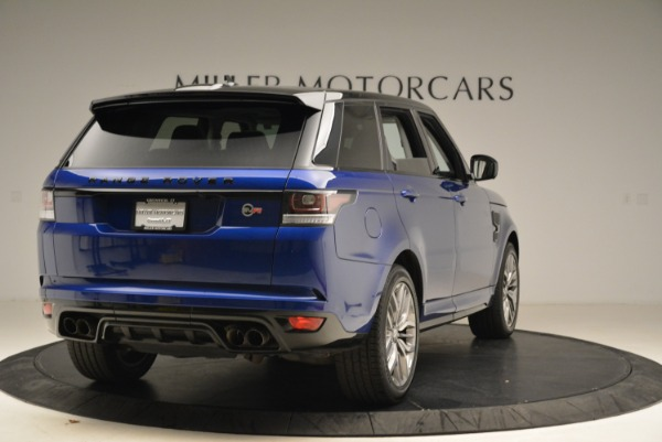 Used 2015 Land Rover Range Rover Sport SVR for sale Sold at Bentley Greenwich in Greenwich CT 06830 7