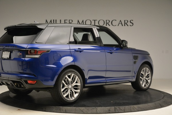 Used 2015 Land Rover Range Rover Sport SVR for sale Sold at Bentley Greenwich in Greenwich CT 06830 8