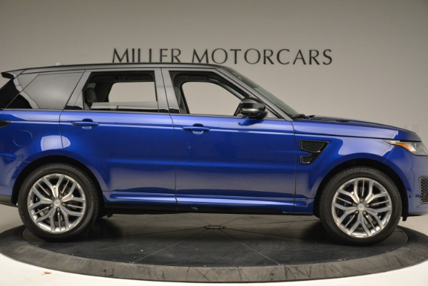 Used 2015 Land Rover Range Rover Sport SVR for sale Sold at Bentley Greenwich in Greenwich CT 06830 9