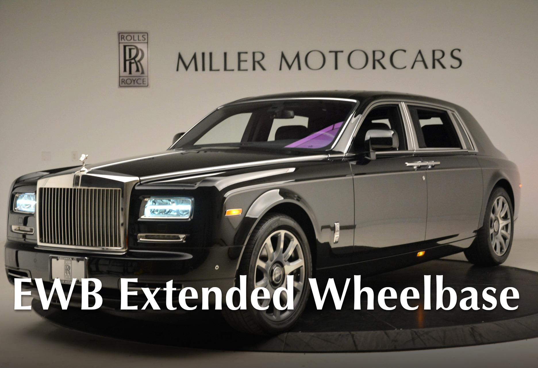 Used 2014 Rolls-Royce Phantom EWB for sale Sold at Bentley Greenwich in Greenwich CT 06830 1