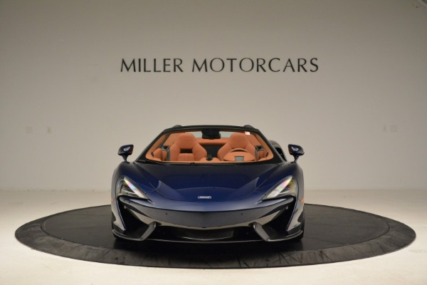 New 2018 McLaren 570S Spider for sale Sold at Bentley Greenwich in Greenwich CT 06830 12