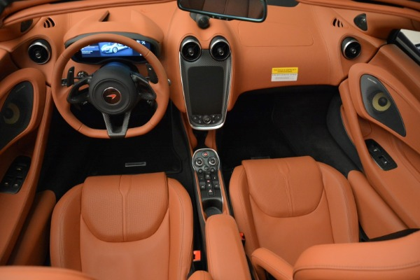 New 2018 McLaren 570S Spider for sale Sold at Bentley Greenwich in Greenwich CT 06830 28