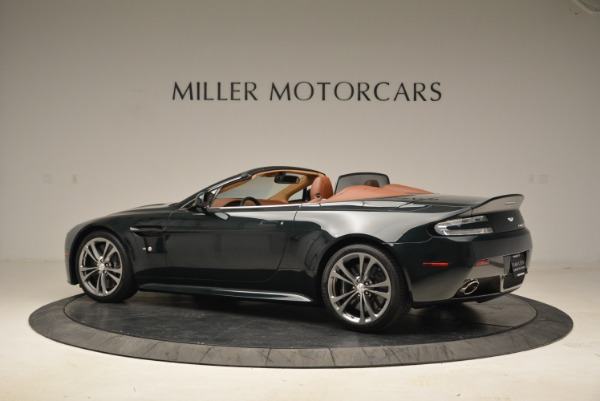 Used 2017 Aston Martin V12 Vantage S Roadster for sale Sold at Bentley Greenwich in Greenwich CT 06830 4