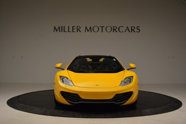 Used 2014 McLaren MP4-12C Spider for sale Sold at Bentley Greenwich in Greenwich CT 06830 12