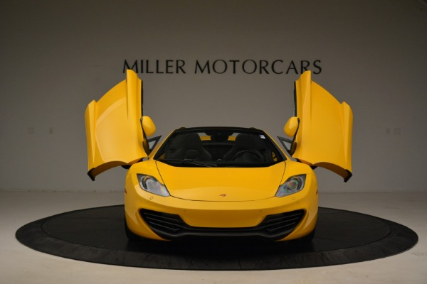 Used 2014 McLaren MP4-12C Spider for sale Sold at Bentley Greenwich in Greenwich CT 06830 13