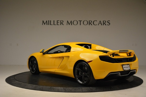 Used 2014 McLaren MP4-12C Spider for sale Sold at Bentley Greenwich in Greenwich CT 06830 17