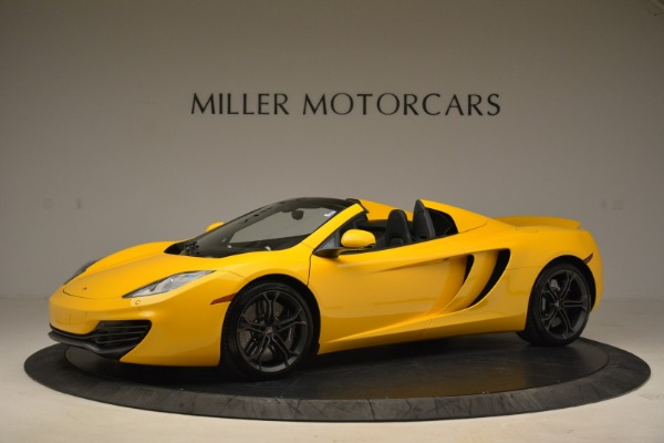 Used 2014 McLaren MP4-12C Spider for sale Sold at Bentley Greenwich in Greenwich CT 06830 2