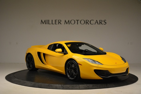 Used 2014 McLaren MP4-12C Spider for sale Sold at Bentley Greenwich in Greenwich CT 06830 21