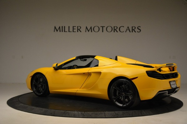 Used 2014 McLaren MP4-12C Spider for sale Sold at Bentley Greenwich in Greenwich CT 06830 4