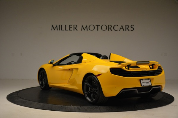 Used 2014 McLaren MP4-12C Spider for sale Sold at Bentley Greenwich in Greenwich CT 06830 5