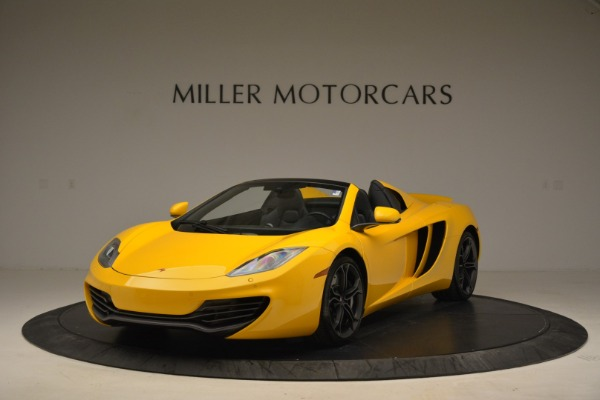 Used 2014 McLaren MP4-12C Spider for sale Sold at Bentley Greenwich in Greenwich CT 06830 1