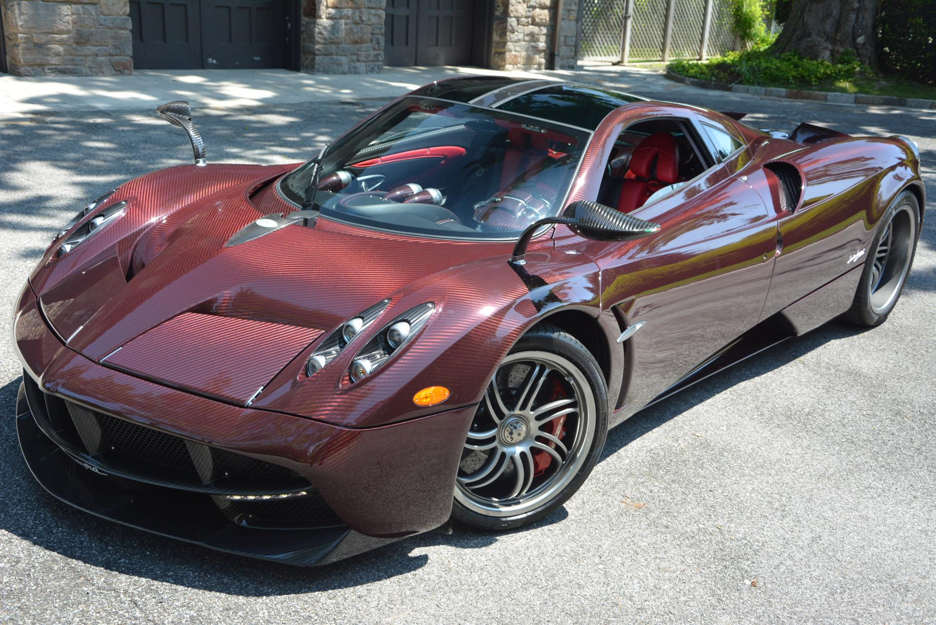 Used 2014 Pagani Huayra for sale Sold at Bentley Greenwich in Greenwich CT 06830 1