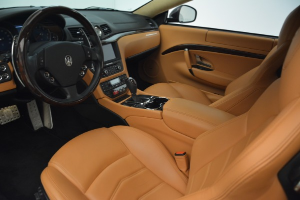 Used 2014 Maserati GranTurismo Sport for sale Sold at Bentley Greenwich in Greenwich CT 06830 13
