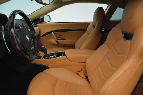 Used 2014 Maserati GranTurismo Sport for sale Sold at Bentley Greenwich in Greenwich CT 06830 14