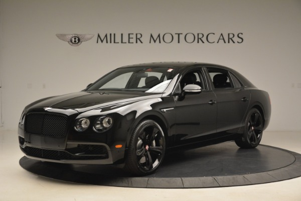 New 2018 Bentley Flying Spur V8 S Black Edition for sale Sold at Bentley Greenwich in Greenwich CT 06830 2
