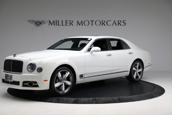 Used 2018 Bentley Mulsanne Speed for sale Sold at Bentley Greenwich in Greenwich CT 06830 1