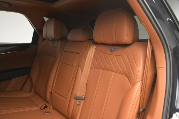 Used 2018 Bentley Bentayga Signature for sale Sold at Bentley Greenwich in Greenwich CT 06830 24