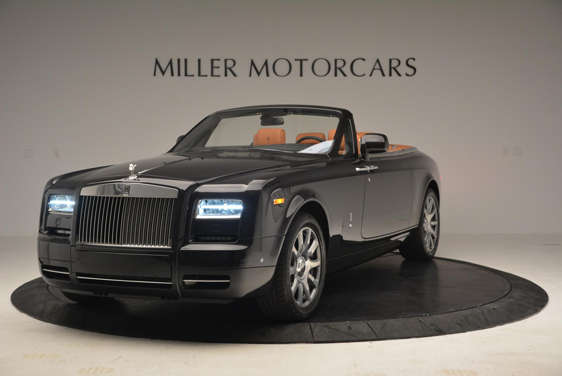 New 2016 Rolls-Royce Phantom Drophead Coupe Bespoke for sale Sold at Bentley Greenwich in Greenwich CT 06830 1