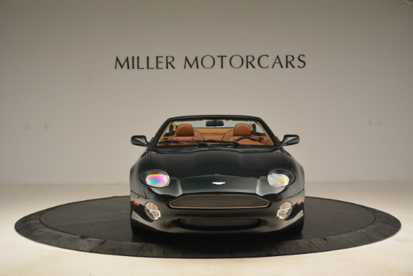 Used 2003 Aston Martin DB7 Vantage Volante for sale Sold at Bentley Greenwich in Greenwich CT 06830 12