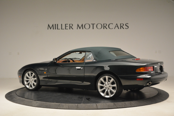 Used 2003 Aston Martin DB7 Vantage Volante for sale Sold at Bentley Greenwich in Greenwich CT 06830 16