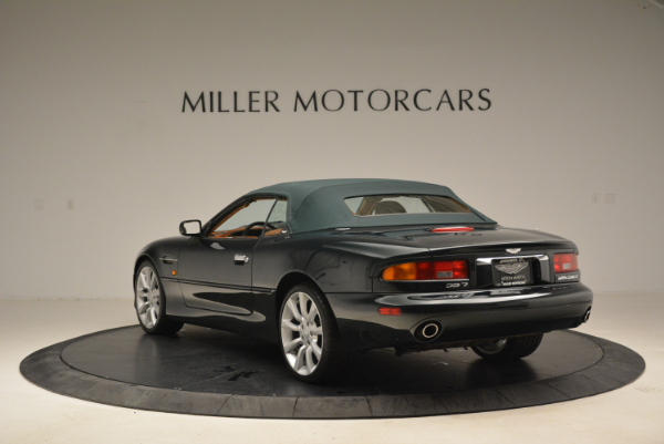 Used 2003 Aston Martin DB7 Vantage Volante for sale Sold at Bentley Greenwich in Greenwich CT 06830 17