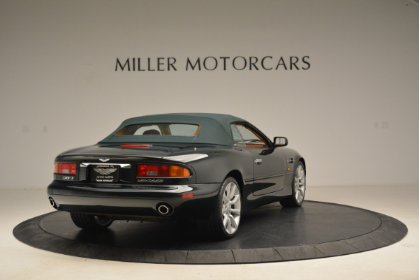 Used 2003 Aston Martin DB7 Vantage Volante for sale Sold at Bentley Greenwich in Greenwich CT 06830 19
