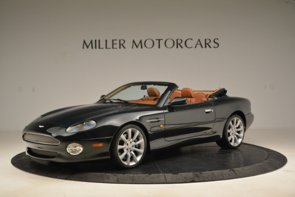 Used 2003 Aston Martin DB7 Vantage Volante for sale Sold at Bentley Greenwich in Greenwich CT 06830 2