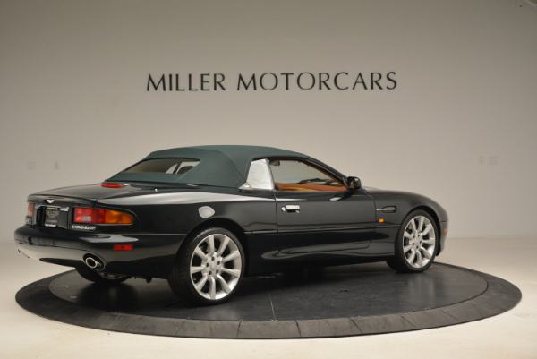 Used 2003 Aston Martin DB7 Vantage Volante for sale Sold at Bentley Greenwich in Greenwich CT 06830 20