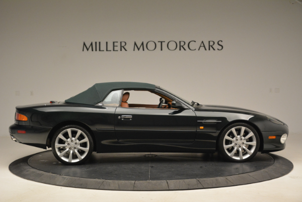Used 2003 Aston Martin DB7 Vantage Volante for sale Sold at Bentley Greenwich in Greenwich CT 06830 21