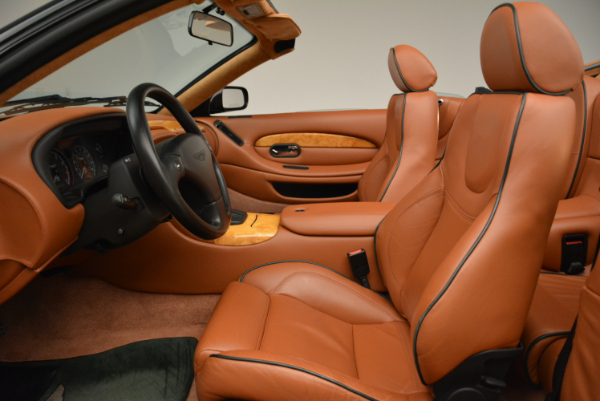 Used 2003 Aston Martin DB7 Vantage Volante for sale Sold at Bentley Greenwich in Greenwich CT 06830 23