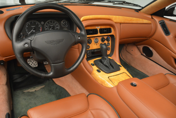 Used 2003 Aston Martin DB7 Vantage Volante for sale Sold at Bentley Greenwich in Greenwich CT 06830 24