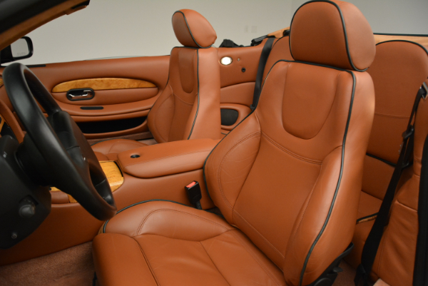 Used 2003 Aston Martin DB7 Vantage Volante for sale Sold at Bentley Greenwich in Greenwich CT 06830 26