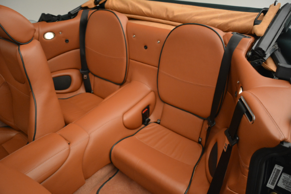 Used 2003 Aston Martin DB7 Vantage Volante for sale Sold at Bentley Greenwich in Greenwich CT 06830 27