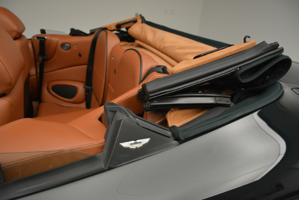 Used 2003 Aston Martin DB7 Vantage Volante for sale Sold at Bentley Greenwich in Greenwich CT 06830 28