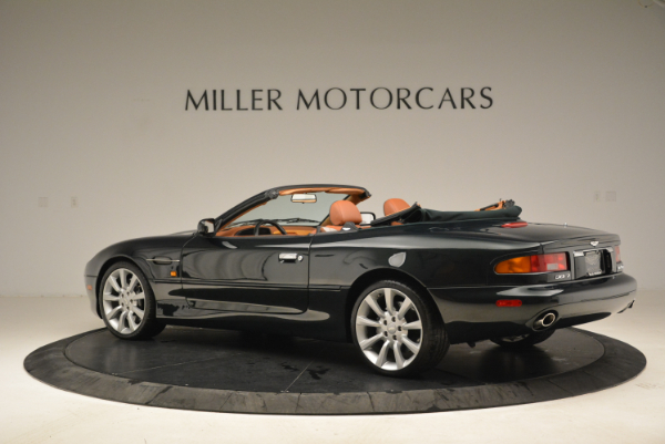 Used 2003 Aston Martin DB7 Vantage Volante for sale Sold at Bentley Greenwich in Greenwich CT 06830 4
