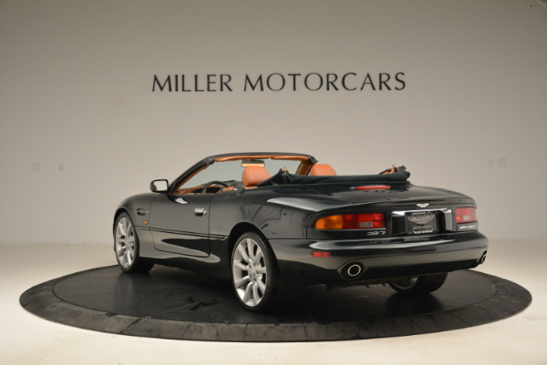 Used 2003 Aston Martin DB7 Vantage Volante for sale Sold at Bentley Greenwich in Greenwich CT 06830 5