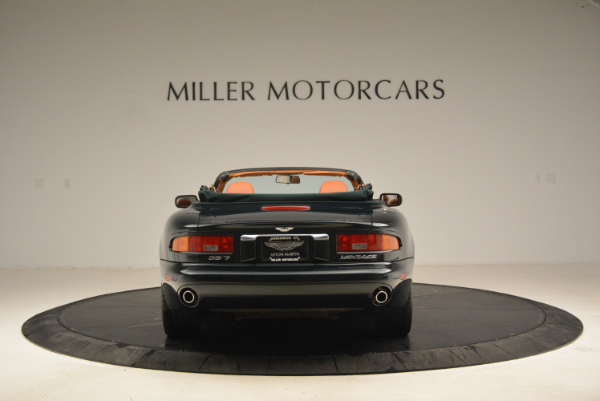 Used 2003 Aston Martin DB7 Vantage Volante for sale Sold at Bentley Greenwich in Greenwich CT 06830 6