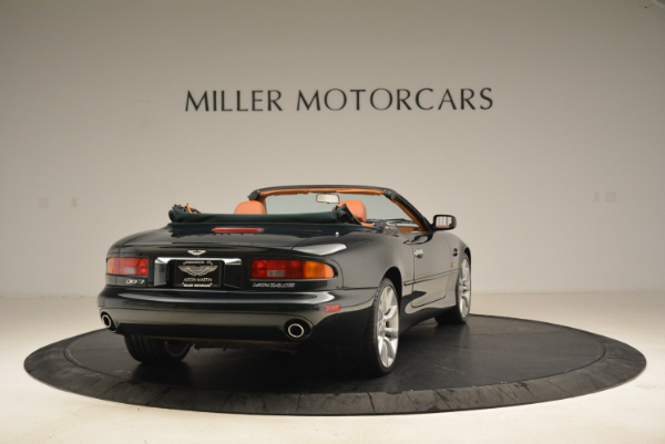 Used 2003 Aston Martin DB7 Vantage Volante for sale Sold at Bentley Greenwich in Greenwich CT 06830 7