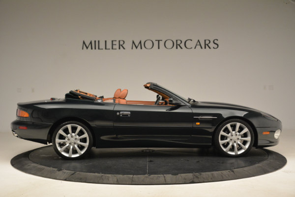 Used 2003 Aston Martin DB7 Vantage Volante for sale Sold at Bentley Greenwich in Greenwich CT 06830 9