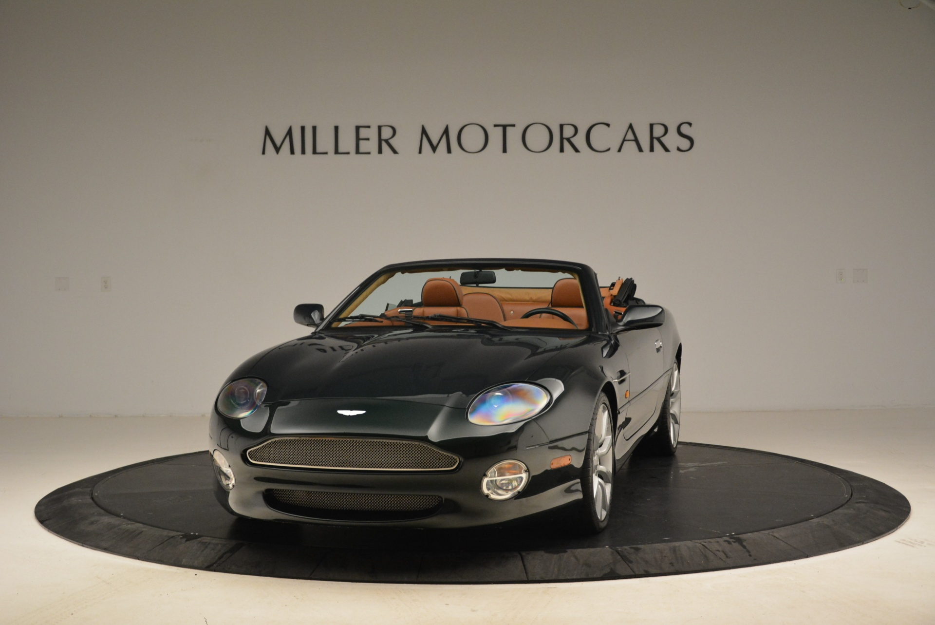 Used 2003 Aston Martin DB7 Vantage Volante for sale Sold at Bentley Greenwich in Greenwich CT 06830 1