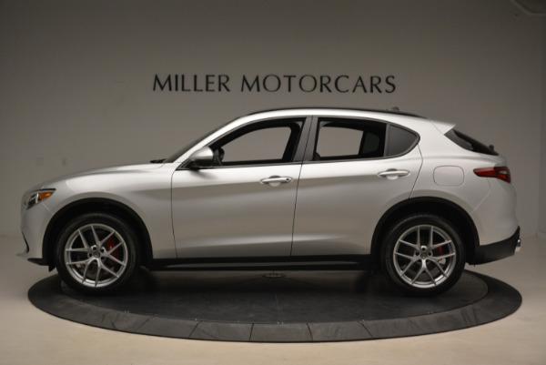 New 2018 Alfa Romeo Stelvio Ti Sport Q4 for sale Sold at Bentley Greenwich in Greenwich CT 06830 3