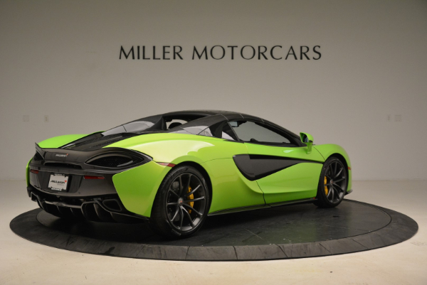 New 2018 McLaren 570S Spider for sale Sold at Bentley Greenwich in Greenwich CT 06830 19