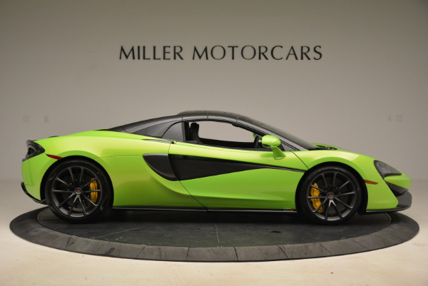 New 2018 McLaren 570S Spider for sale Sold at Bentley Greenwich in Greenwich CT 06830 20