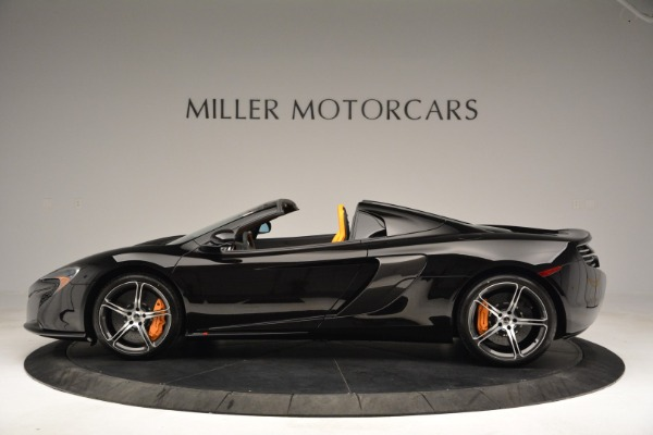 Used 2015 McLaren 650S Spider for sale Sold at Bentley Greenwich in Greenwich CT 06830 3